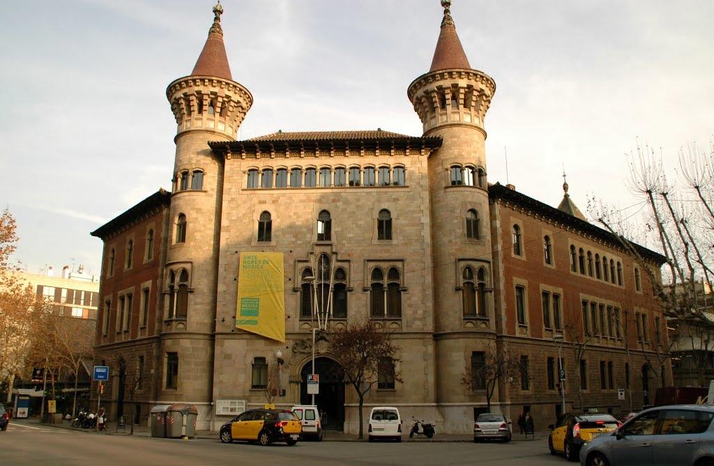 Conservatorio municipal de m sica en barcelona for Conservatorio de musica